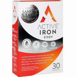 Abbildung von Active Iron Eisen Kapseln 30 Stück