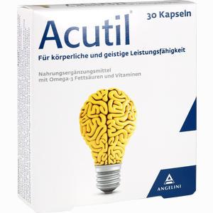 Abbildung von Acutil Kapseln 30 Stück