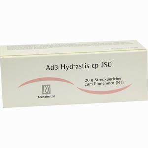 Abbildung von Ad3 Hydrastis Cp Jso Globuli 20 g