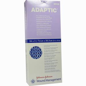 Abbildung von Adaptic Nicht- Haftende Wundauflage 7,6x20,3cm 2013 108 Stück