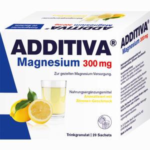 Abbildung von Additiva Magnesium 300mg N Pulver 20 Stück