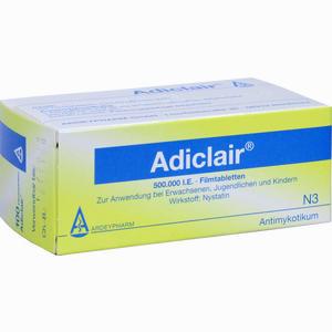 Abbildung von Adiclair Tabletten 100 Stück