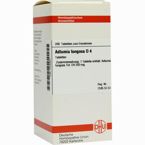 Abbildung von Adlumia Fungosa D4 Tabletten 200 Stück