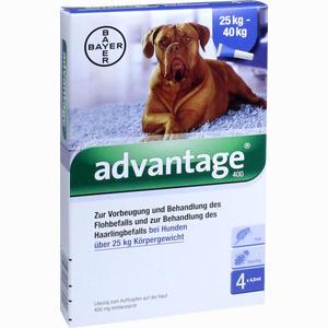 Abbildung von Advantage 400mg Lösung für Hunde  1 x 4 Stück