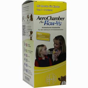 Abbildung von Aerochamber Hexal mit Maske für Kinder 1 Stück