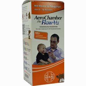 Abbildung von Aerochamber Hexal mit Maske für Säuglinge 1 Stück