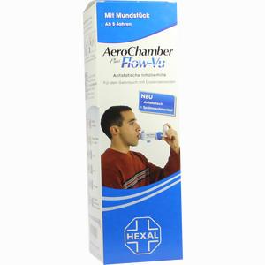Abbildung von Aerochamber Hexal mit Mundstück für Erwachsene U. Kinder 1 Stück