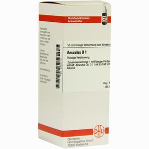 Abbildung von Aesculus D 1 Dilution 50 ml