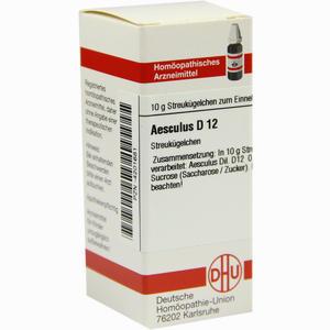 Abbildung von Aesculus D12 Globuli 10 g