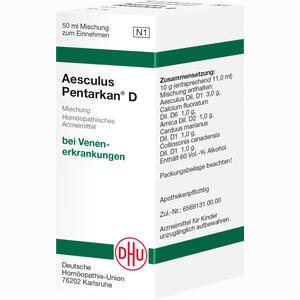 Abbildung von Aesculus Pentarkan D Liquidum 50 ml