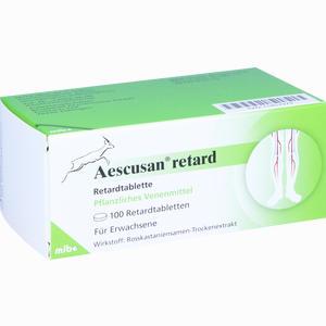 Abbildung von Aescusan Retard Retardtabletten 100 Stück