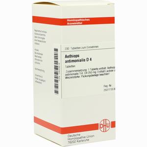 Abbildung von Aethiops Antimon D4 Tabletten 200 Stück