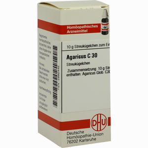 Abbildung von Agaricus C30 Globuli 10 g
