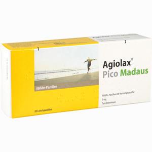 Abbildung von Agiolax Pico Madaus Abführ- Pastillen Lutschpastillen 20 Stück