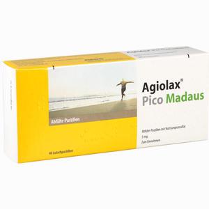 Abbildung von Agiolax Pico Madaus Lutschpastillen 40 Stück