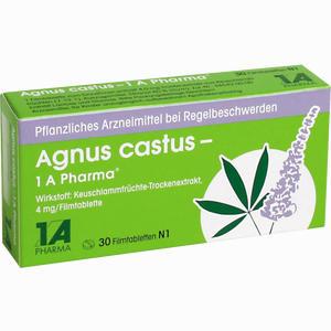 Abbildung von Agnus Castus - 1 A Pharma Filmtabletten 30 Stück