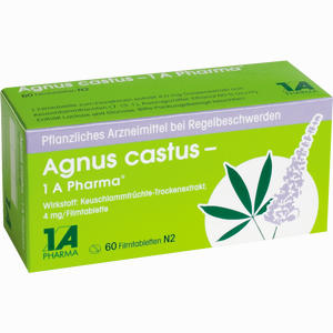 Abbildung von Agnus Castus - 1 A Pharma Filmtabletten 60 Stück
