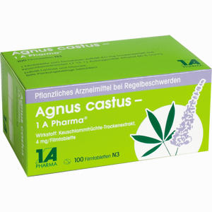 Abbildung von Agnus Castus - 1 A Pharma Filmtabletten 100 Stück