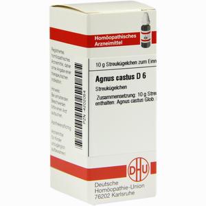 Abbildung von Agnus Castus D6 Globuli 10 g