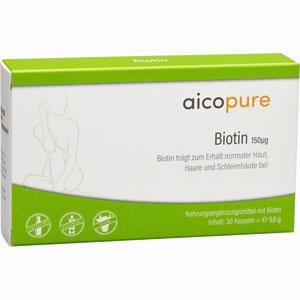 Abbildung von Aicopure Biotin 150 Ug Kapseln 30 Stück