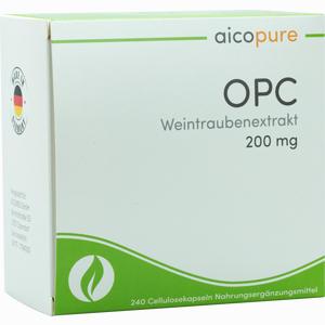 Abbildung von Aicopure Opc Weintraubenextrakt 200mg Kapseln 240 Stück