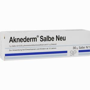 Abbildung von Aknederm Salbe Neu  30 g