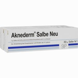 Abbildung von Aknederm Salbe Neu  60 g