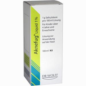 Abbildung von Aknefug- Liquid 1% Lösung 100 ml