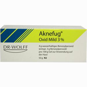 Abbildung von Aknefug- Oxid Mild 3% Gel 50 g