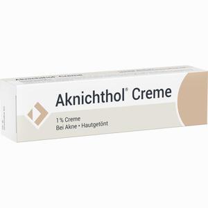 Abbildung von Aknichthol Creme  25 g
