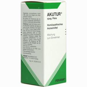 Abbildung von Akutur Spag. Peka Tropfen 50 ml