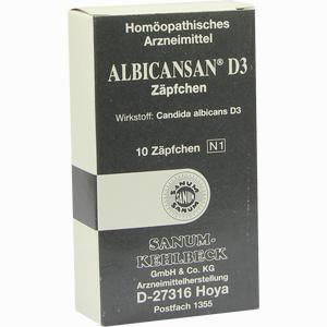 Abbildung von Albicansan D3 Zäpfchen 10 Stück