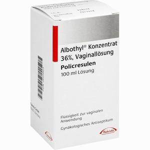 Abbildung von Albothyl Konzentrat  100 ml
