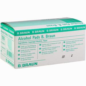 Abbildung von Alcohol Pads B. Braun Tupfer 100 Stück