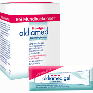 Abbildung von Aldiamed Mundgel Einmalsachets Speichelergänzung Gel 50 x 2 ml