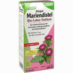 Abbildung von Alepa Mariendistel Bio- Leber- Tonikum Salus  250 ml