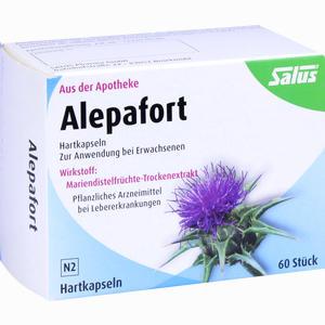 Abbildung von Alepafort Mariendistel 60 Stück