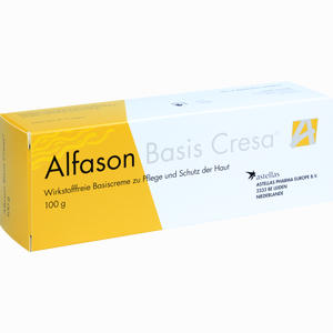 Abbildung von Alfason Basis Cresa Creme 100 g
