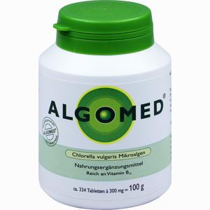 Abbildung von Algomed Chlorella Vulgaris Mikroalgen 300mg Tabletten 100 g