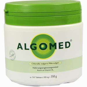 Abbildung von Algomed Chlorella Vulgaris Mikroalgen 300mg Tabletten 350 g