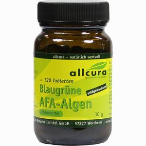Abbildung von Allcura Blaugrüne Afa- Algen Tabletten  500 Stück