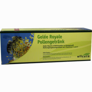 Abbildung von Allcura Gelee Royale Pollengetränk Trinkampullen  30 x 15 ml