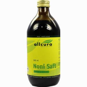 Abbildung von Allcura Noni Saft  500 ml