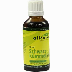 Abbildung von Allcura Schwarzkümmel Öl 50 ml