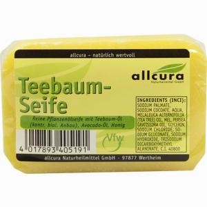 Abbildung von Allcura Teebaum- Seife  100 g