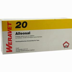 Abbildung von Alleosal 20 Vet Ampullen 40 x 2 ml