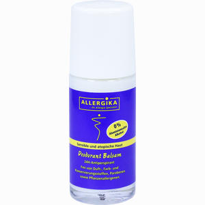 Abbildung von Allergika Deodorant Balsam 50 ml