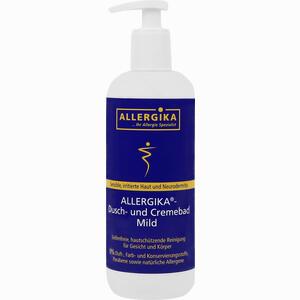Abbildung von Allergika Dusch- und Cremebad Mild Duschgel 500 ml