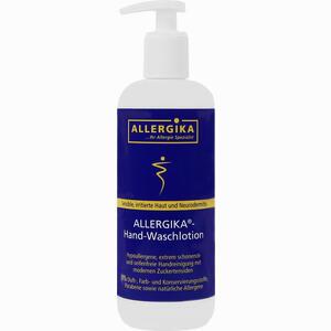 Abbildung von Allergika Hand-waschlotion Gel 500 ml