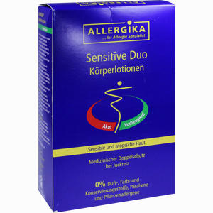 Abbildung von Allergika Sensitive Duo Lotion 2 x 500 ml